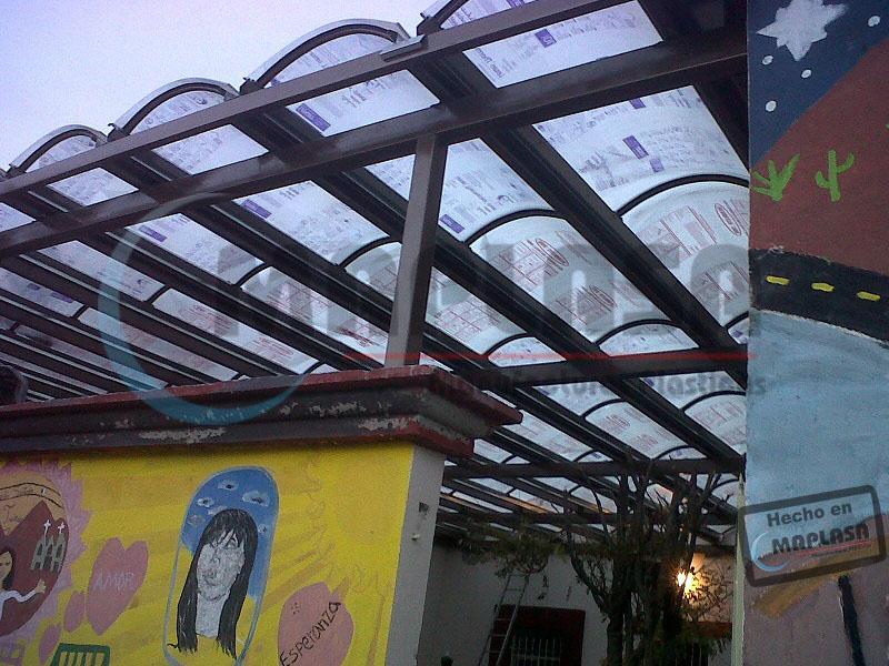 Domos de acrilico y policarbonato venta de domos en chihuahua for Tirol en techos de casas
